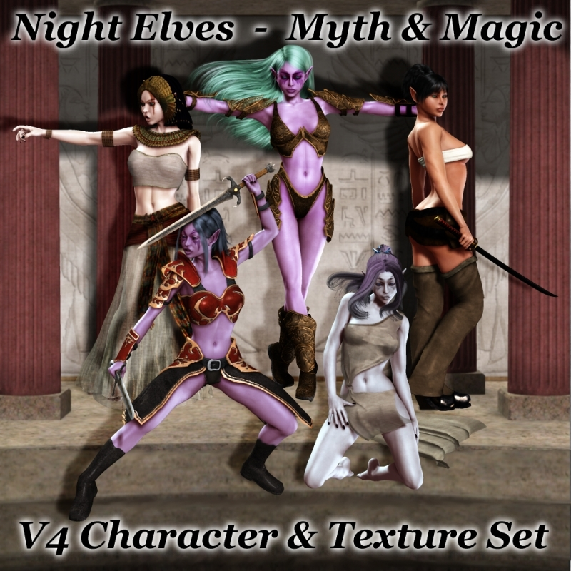 Night Elves - Myth & Magic