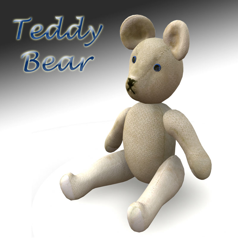 Teddy Bear prop for Poser