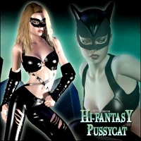Hi-Fantasy - Pussycat 3D Figure Essentials Pretty3D