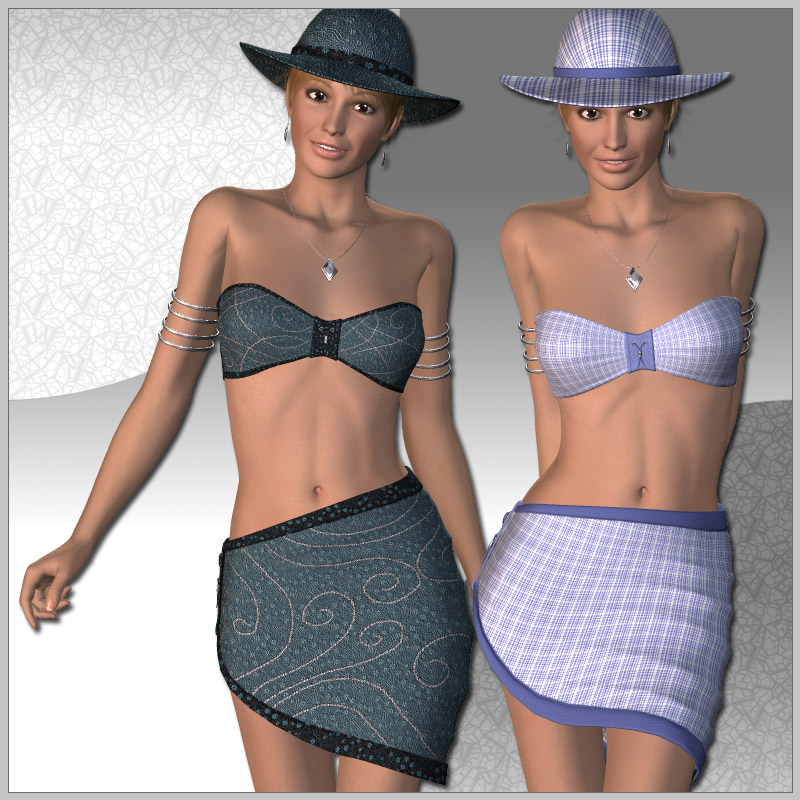 Beach Fashion for V4
