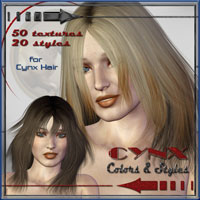 Cynx Colors and Styles- Real Hair and styles for Cynx Hair  ilona