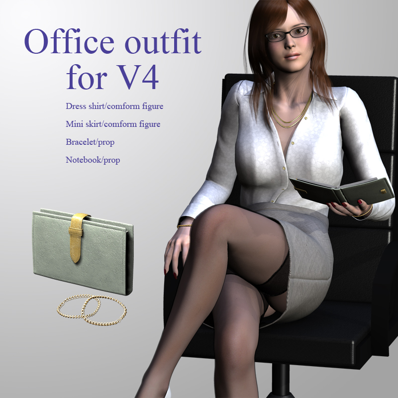 Office outfit for V4