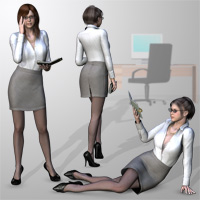 Office outfit for V4 image 1
