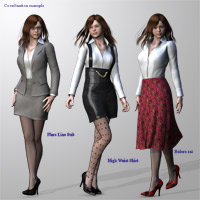 Office outfit for V4 image 3