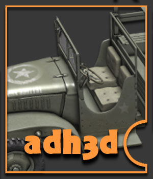 WW2 USA CCKW TRUCK by adh3d