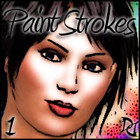 DD - Paint Strokes 1 - PS Actions   DreamWarrior