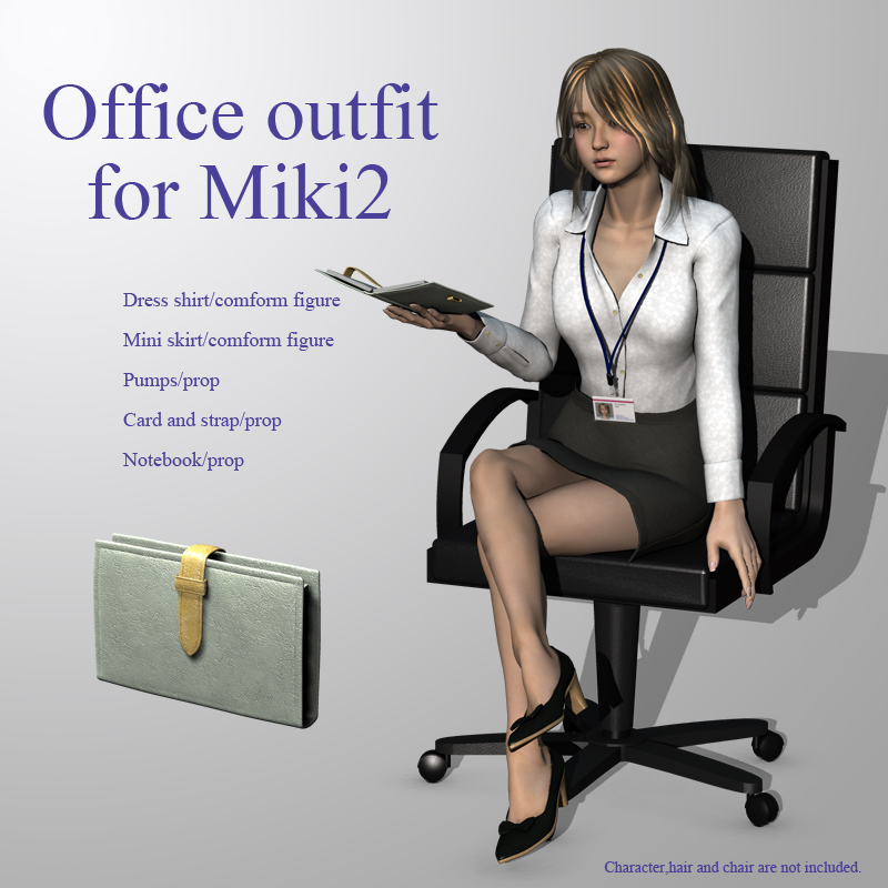 Office outfit for Miki2