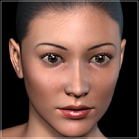 Eastern Girl For V4  3D Figure Essentials idler168