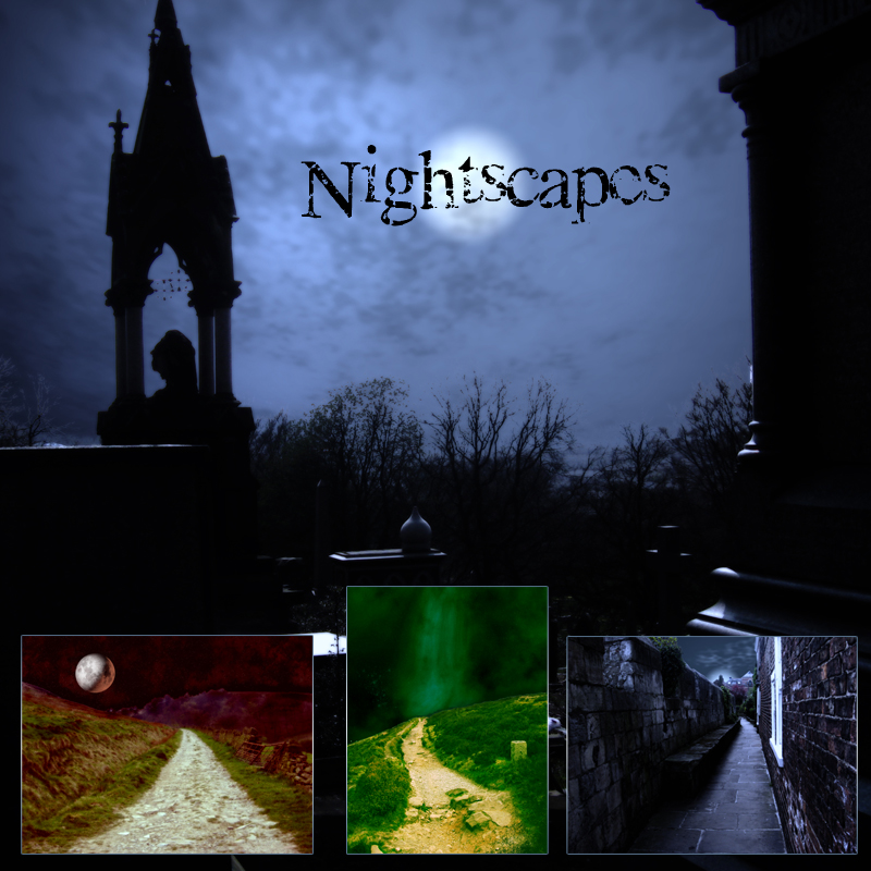 Nightscapes Background Set