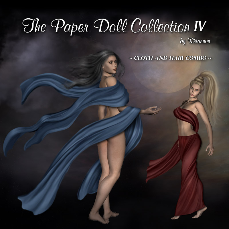 The Paper Doll Collection IV - Cloth & Hair Combo