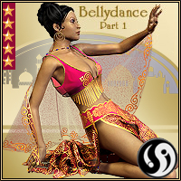 Agrabah Nights: V4 Bellydance part 1 3D Figure Essentials CJ-studio