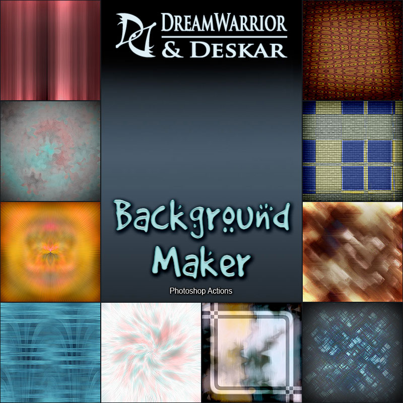 DD - Background Maker - PS Actions