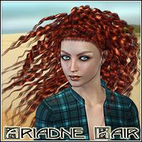 Ariadne Hair 3D Figure Essentials Mairy