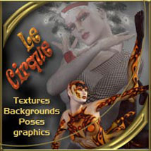 Le Cirque Characters Poses/Expressions 2D And/Or Merchant Resources Software ilona