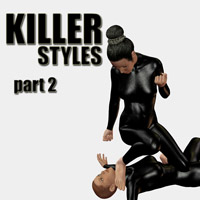 Killer styles 2 3D Figure Assets PainMD