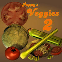 Veggies_2 3D Models pappy411