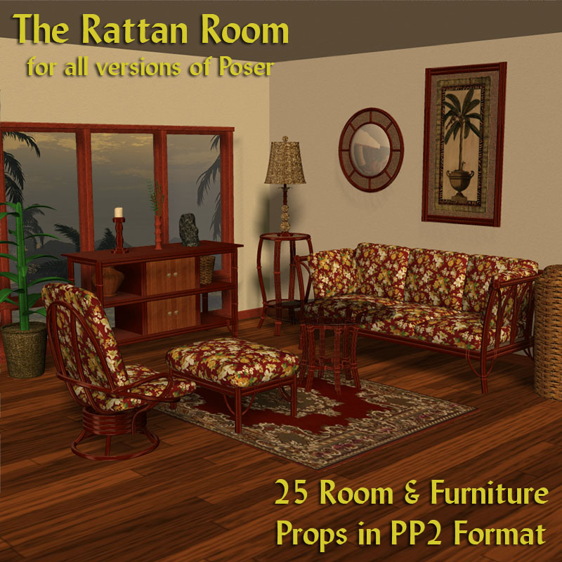 The Rattan Room