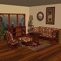 The Rattan Room 3D Models Richabri