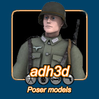 WW2 German Infantry M3 by adh3d