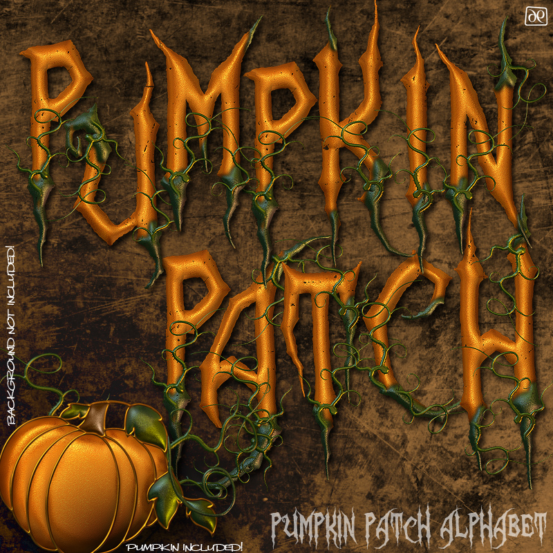 Pumpkin Patch Alphabet