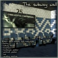 The Subway Wall Kit Props/Scenes/Architecture Themed Lory