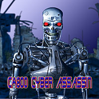 CA-800 Cyber Assassin 3D Models 3D Figure Assets scooby37