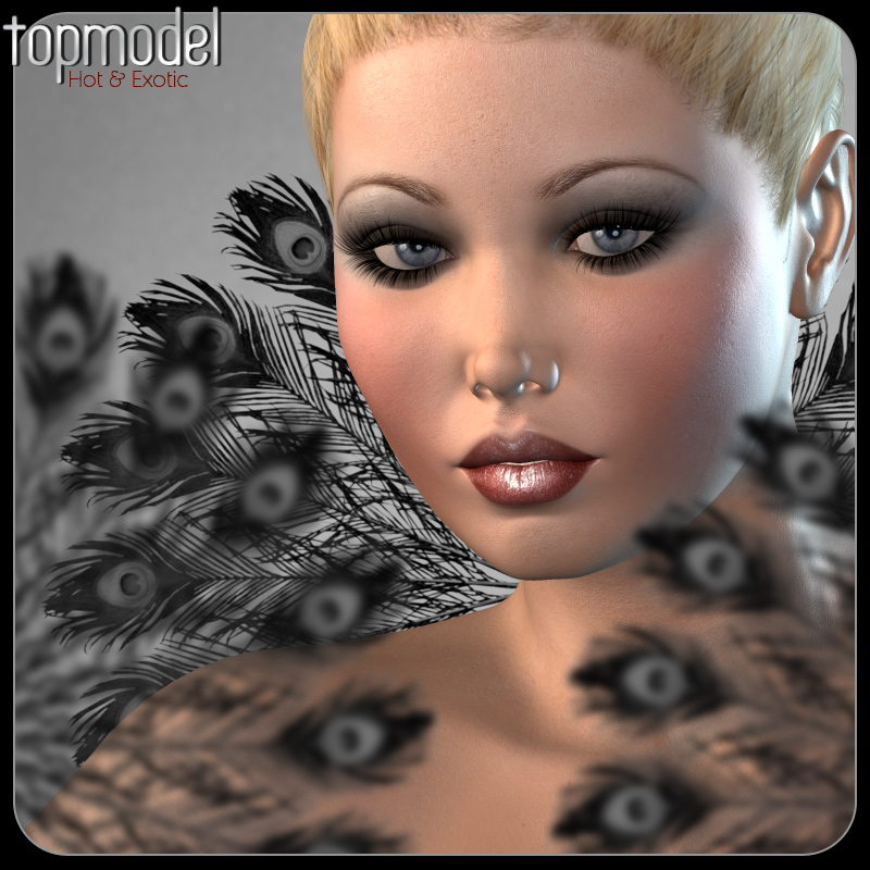 Topmodel Kit MakeUp Expansion: Hot & Exotic