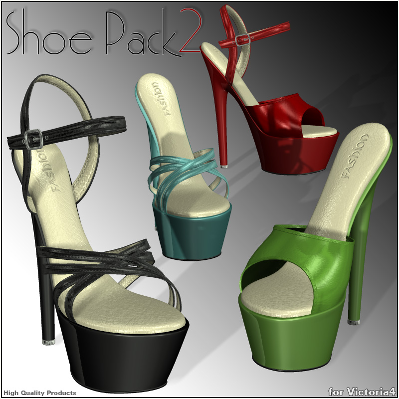 Shoe Pack 2 for V4/A4