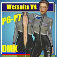 Wetsuitpack for V4, Vers 1.0 3D Figure Essentials kruse