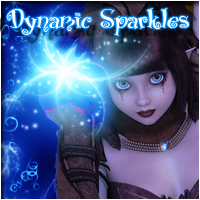 50 Dynamic Sparkles 2D Graphics patslash