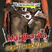 Margharita 3D Figure Assets 3D Models Legacy Discounted Content powerage