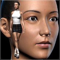 New Character&Clothing for Miki2 3D Figure Essentials idler168