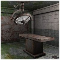 Eerie Morgue (Poser, Vue & OBJ) Props/Scenes/Architecture Themed RPublishing