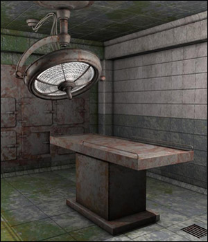 Eerie Morgue (Poser, Vue and OBJ) 3D Models RPublishing