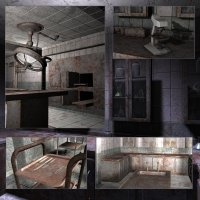 Eerie Morgue (Poser, Vue and OBJ) image 6