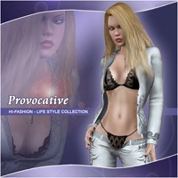 Hi-Fashion (Life Style) - Provocative 3D Models 3D Figure Assets Pretty3D