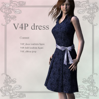 V4P dress 3D Figure Essentials kobamax