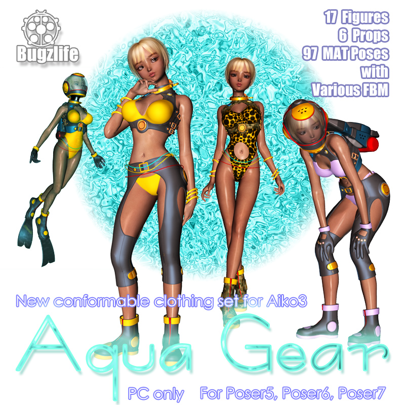 Aqua Gear For Aiko3