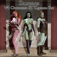 Saurians 3D Figure Essentials greyson5