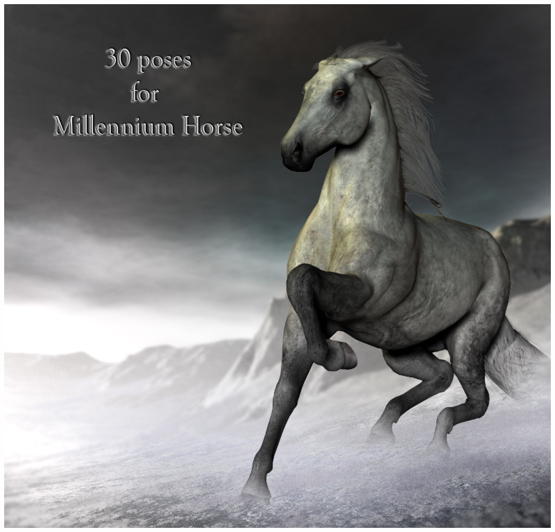 CG Horse Poses