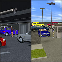 Poser Parking Set 3D Models Richabri