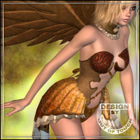 °Magic Flight° Textures for Princess of Wing by aoaio  outoftouch