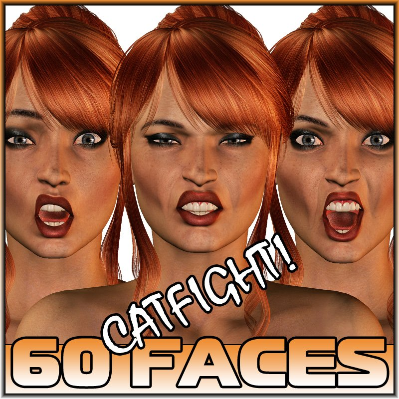 Catfight! Faces V4