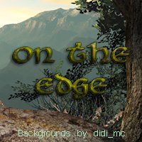 On the Edge 3D Models 2D Graphics didi_mc