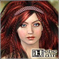 Hebe Hair  3D Figure Essentials Mairy