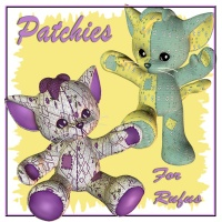 Patchies for Rufus by dpanzee