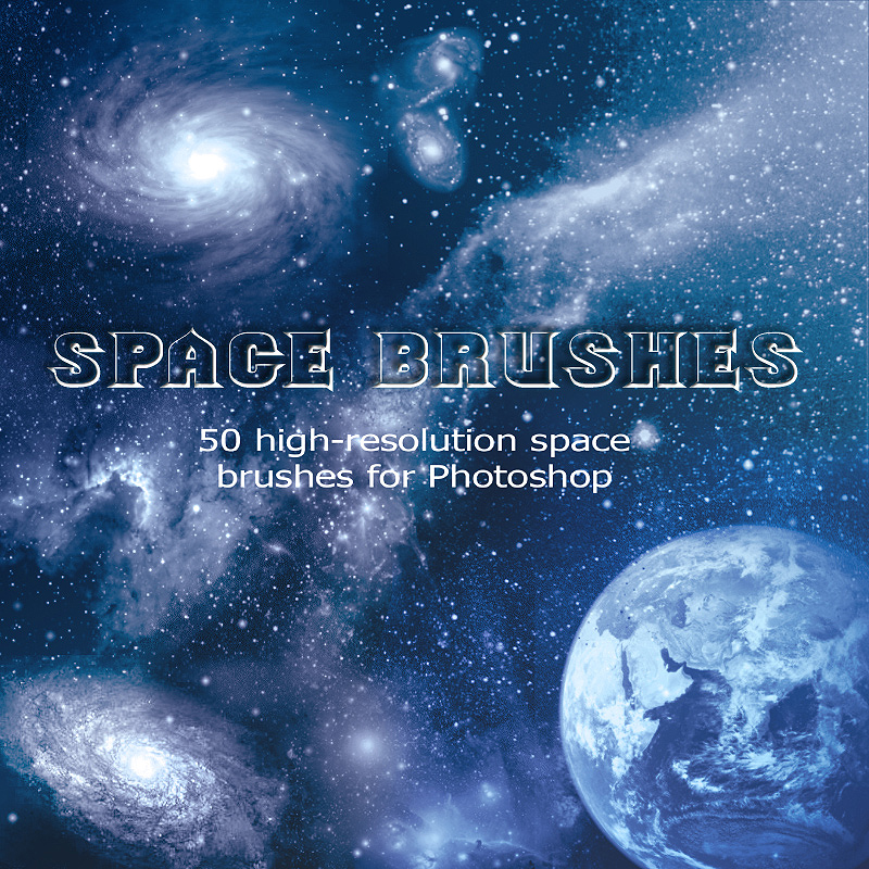 Space Brushes for Photoshop