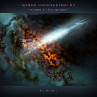 Space Construction Kit Volume 8 3D Models 2D Dotthy
