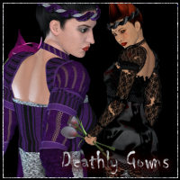 Deathly Gowns for V4 Trousseau  Valerian70