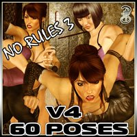 Catfight!  No Rules III Themed Poses/Expressions Darkworld